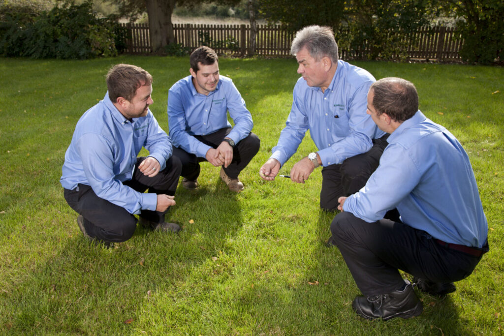next steps to owning a lawn business, talk to the team